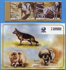 Paraguay 2018 UPAEP Hunde Dalmatiner Chow Chow Dt. Schäferhund Postfrisch MNH