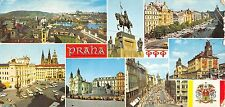 B54862 Praha Pohledna prahu se Stareho Mesta 20x10cm bus autobus car  czech