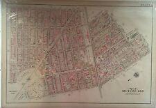 1907 PARK SLOPE CLINTON HILL PROSPECT PARK BROOKLYN NY UNDERHILL - 5TH ATLAS MAP
