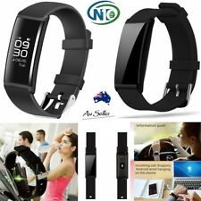 Fitness activity tracker health bracelet blood pressure heart rate waterproof