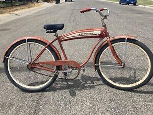 vintage 1951 schwinn spitfire  Skip Tooth Bicycle  S2 Rims Original