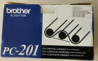 GENUINE BROTHER PC-201 FAX INK/TONER CARTRIDGES NEW SEE PHOTOS SHIPS FREE
