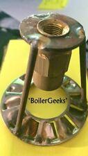"Oil Burner Nozzle Adapter with TURBULATOR-- 1/8"" NPT  x 9/16""-24TPI -Shellhead"