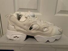Reebok Women's Instapump Fury Gallery Triple White Shoes AQ9360 NEW!
