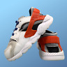Nike Huarache Run Boys Girls Shoes Size Uk 7.5 Kids Infant White Trainers EUR 25