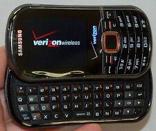 Samsung Intensity II Phone Verizon Wireless SCH-U460 Black 2 slider-keyboard GPS