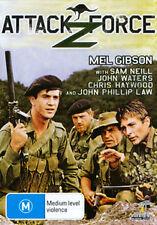 Mel Gibson John Waters Sam Neill ATTACK FORCE Z - AUSTRALIAN WAR FILM DVD