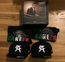 Hennessy Canelo Alvarez Shirts, Hats, And Pins Pack