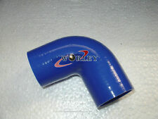 Silicone Hose 90 degree Elbow Bend 2 inch ID 51mm Blue Silicon Tube Intake pipe