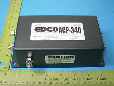 EDCO, ACP-340, Surge Protector, AC Filtering