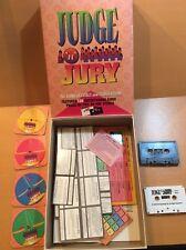Judge 'n' Jury Audio Game of Trials & Tribulations Complete