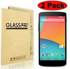 2-Pack Premium Tempered Glass Screen Protector for LG Google Nexus 5