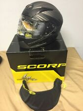 Scorpion EXO-R2000 Ravin Full Face Motorcycle Helmet Matte Phantom, Small