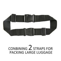 Nylon Add Bag Luggage Strap Jacket Gripper Straps Baggage Suitcase For Travel