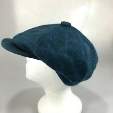 Kevin & Howlin Mens 7 S Green Donegal Tweed Wool Newsboy Cap Handwoven Ireland