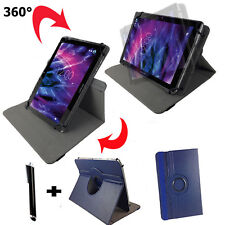 7 Pollici Tablet Borsa-Point of View Mobii i550 Guscio Astuccio - 360 ° BLU 7
