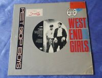 "PET SHOP BOYS (12"" SINGLE) WEST END GIRLS [ORIG 1985 PARLOPHONE **GERMAN PRESS]"