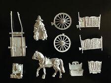 Warhammer Lord of The Rings LOTR - Gandalf and Cart Metal OOP