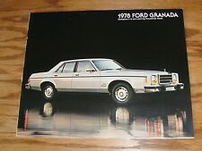 Original 1978 Ford Granada Sales Brochure 78
