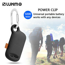 Outdoor 5000mAh Battery Charger Portable Power Bank Backup For Cell Phone Tablet