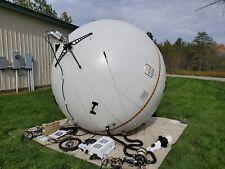 CUBIC GATR 2.4m Inflatable Ku & C Band Satellite Antenna VSAT Satcom Flyaway