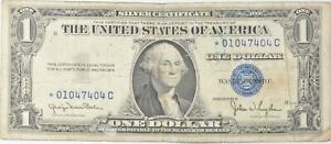 ERROR Replacement *Star* 1935-D $1 Silver Certificate Note - Tough *619