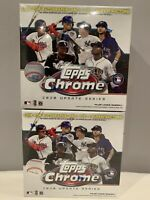 2020 Topps Chrome Update Series MLB Baseball Mega Box lot of 2 - Luis Robert ?🔥