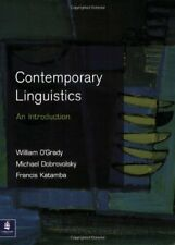 Contemporary Linguistics: An Introduction (Learning About Language),Prof Willia
