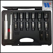 Werkzueg - Master Locking Wheel Nut Removal & Dismantling Set, 16 Pcs - Pro 4063