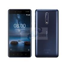 NEW NOKIA 8 DUMMY DISPLAY PHONE - MATT TEMPERED BLUE - UK SELLER