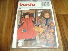 BURDA-BABY Schnittmuster 3692      3teilige BABY-GARNITUR/STRAMPLER        68-92