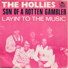 "7"" 45 TOURS BELGIQUE THE HOLLIES ""Son Of A Rotten Gambler +1"" 1974"