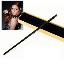 Baguette Ginny Weasley Wand avec BOITE COLLECTOR Harry Potter Olivander box NEUF