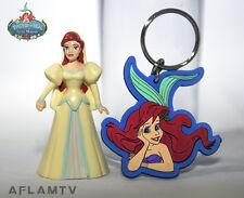 Princess Ariel PVC Figure & Vinyl Keyring Disney Little Mermaid Applause Cake
