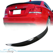 Carbon Fiber BMW E82 Performance P Trunk Spoiler Wing 128i 135i