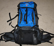 Magellan Sportswear Summit Large Hiking Camping Pack Backpack With Rain Cover
