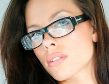"""WAYFARER"" big T Sexy School Teacher Nerd Geek Women Men Rectangular Eyeglasses"