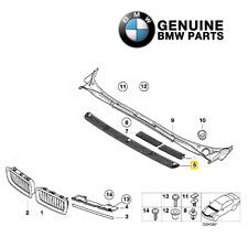 For Exterior Trim Grill Finisher Primed Genuine For E38 740iL 750iL Sedan