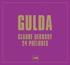 FRIEDRICH GULDA/ CLAUDE DEBUSSY - DEBUSSY PRELUDES  2 VINYL LP NEW+