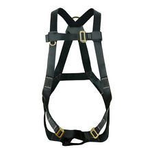 Fusion Climb Vertigo Basic Full Body Adjustable Zipline Harness 23kN M-L Black