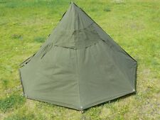 Polish Poland military polish army tent shelter poncho complete with pegs bolts