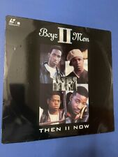 "Boyz II Men ""Then II Now"" - LASERDISC - Good Condition - Music Videos"