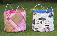 Spielzeugkorb Spielzeugtasche Strandtasche Gartentasche verschieden Muster