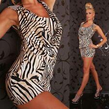 Unbranded Cowl Neck Animal Print Dresses for Women