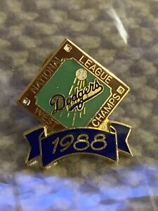 1988 National League West Champs Los Angeles Dodgers Pin