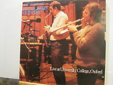 PETER KING QUARTET 90% of 1per cent LIVE AT UNIVERSITY COLLEGE OXFORD+FreeUKpost