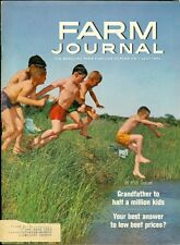 1964 Farm Journal Magazine: Boys Swimming/Grandfather to Half Million Kids/Beef