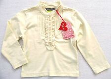 Barbara Farber Girls Longsleeve Shirt size 98 3 years new