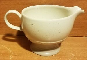"Mikasa Stone Craft LUSTOR Creamer, 3 1/8"" / 8 oz, CF301, Excellent"