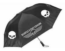 Harley-Davidson Regenschirm Skull Black & White    *UMB119988*